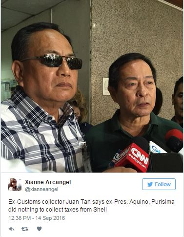 MUST READ: Graft Case Filed Against Aquino and Purisima Over Shell Tax Controversy