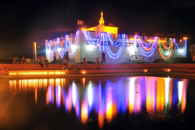 Maya Devi Temple at Buddha Jayanti