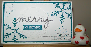 Stampin' Up! Made by Susan Simpson (Merrey) Independent Stampin' Up! Demonstrator, Craftyduckydoodah!, Christmas Wish List & Gift Vouchers, Holly Jolly Greetings,