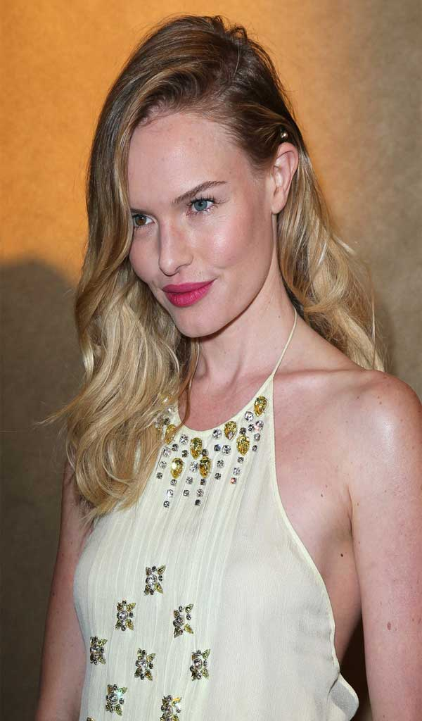 Kate Bosworth Long Wavy Cut