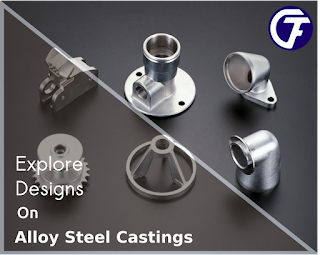 Alloy steel casting manufacturer