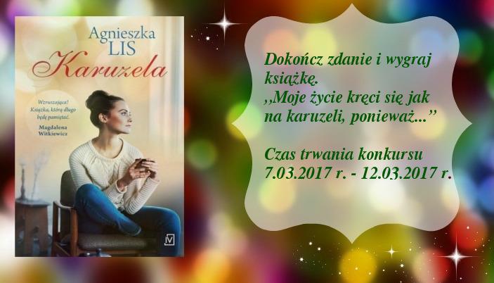 Karuzela - Agnieszka Lis KONKURS dla kobiet Wydarzenie Zmysłowy Zawrót Głowy.