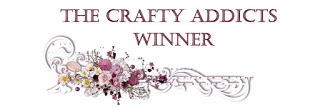 WINNER THE CRAFTY ADDICTS Challenge 13