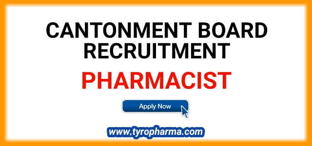 Pharmacist Job in Kamptee Cantonment Board