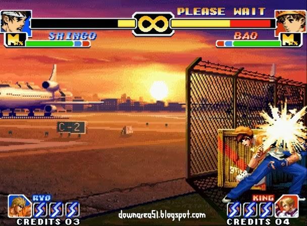 Shingo KOF 1999 SUper Move