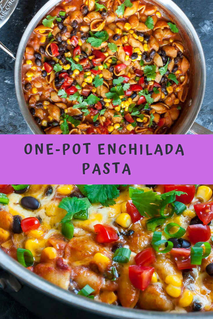 ONE-POT ENCHILADA PASTA RECIPE