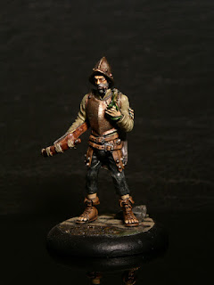Discworld samuel Sam Vimes miniature micro art studio