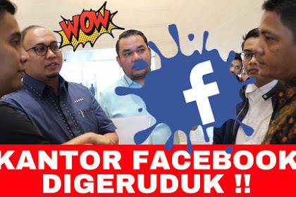 "Jubir BPN 02 GERUDUK Kantor FACEBOOK, TERNYATA Tak Terduga, Akhirnya Singgung Teman ""Sempak Merah"" Yang Tuntut Facebook 1 Triliun"