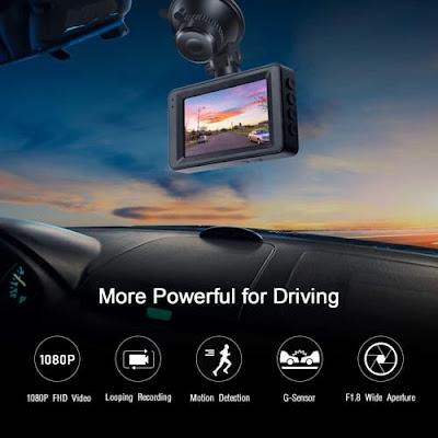 2020 Innosinpo LCD Screen FHD Car Dash Cam