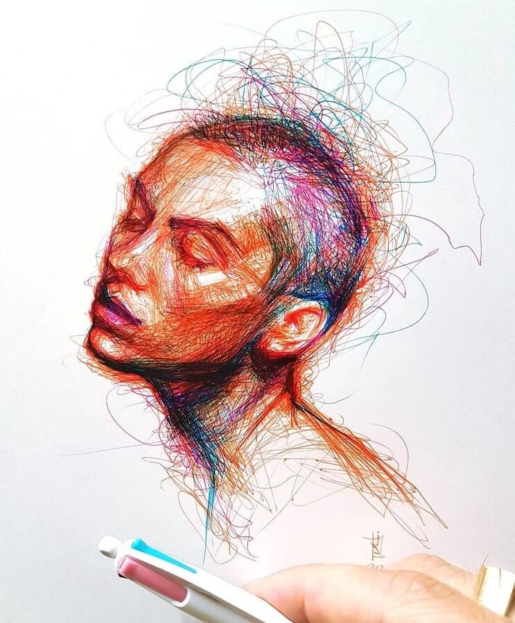 11-Alberto-Russo-Scribble-Drawings-www-designstack-co