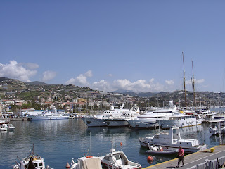 The harbour at Sanremo in Liguria