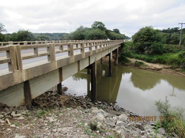 Ponte sobre o Rio Canoinhas