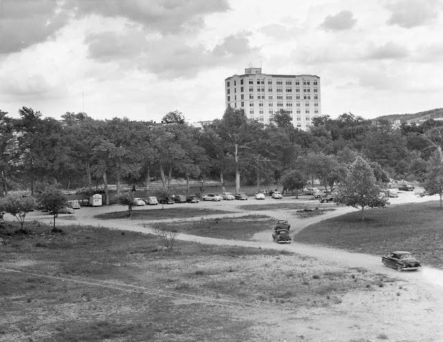 Kerrville's Louise Hays Park, late 1950s