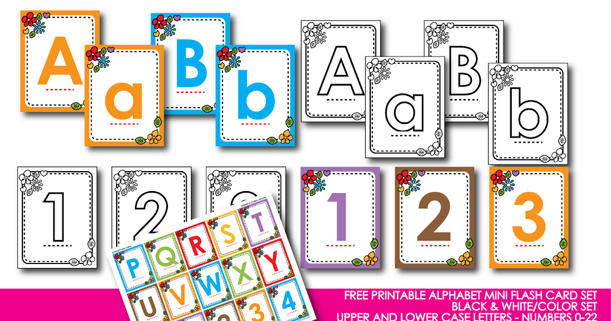 Resource image with abc printable