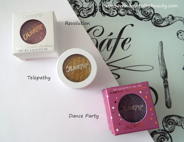 colourpop cień telepathy dance party revolution