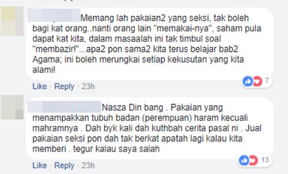 Peminat Persoal Niat Shima Jual Baju Seksi Selepas Berhijrah