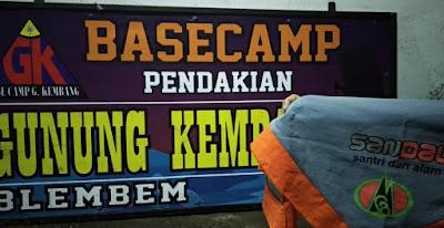 Basecamp Pendakian Gunung Kembang blembem