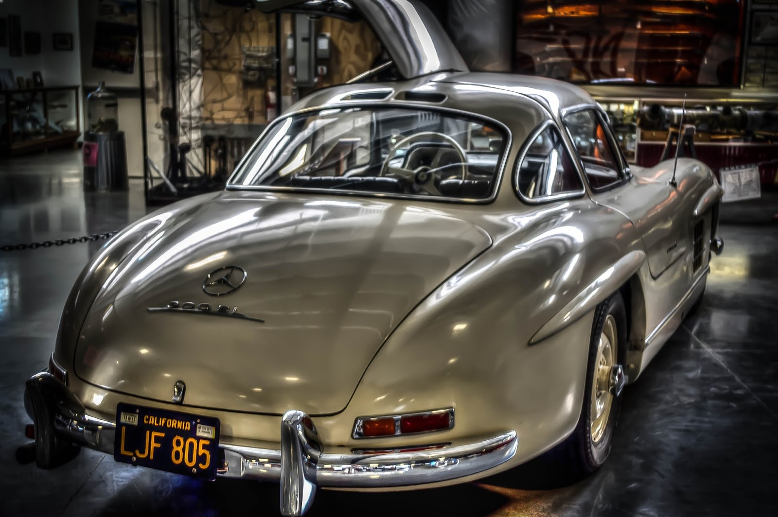 Thom Zehrfeld Photography : Classic Cars- Mercedes Gullwing