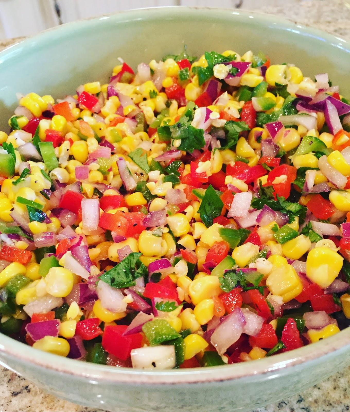 Lindsey Lately: Weekend Update + Summer Corn Salad