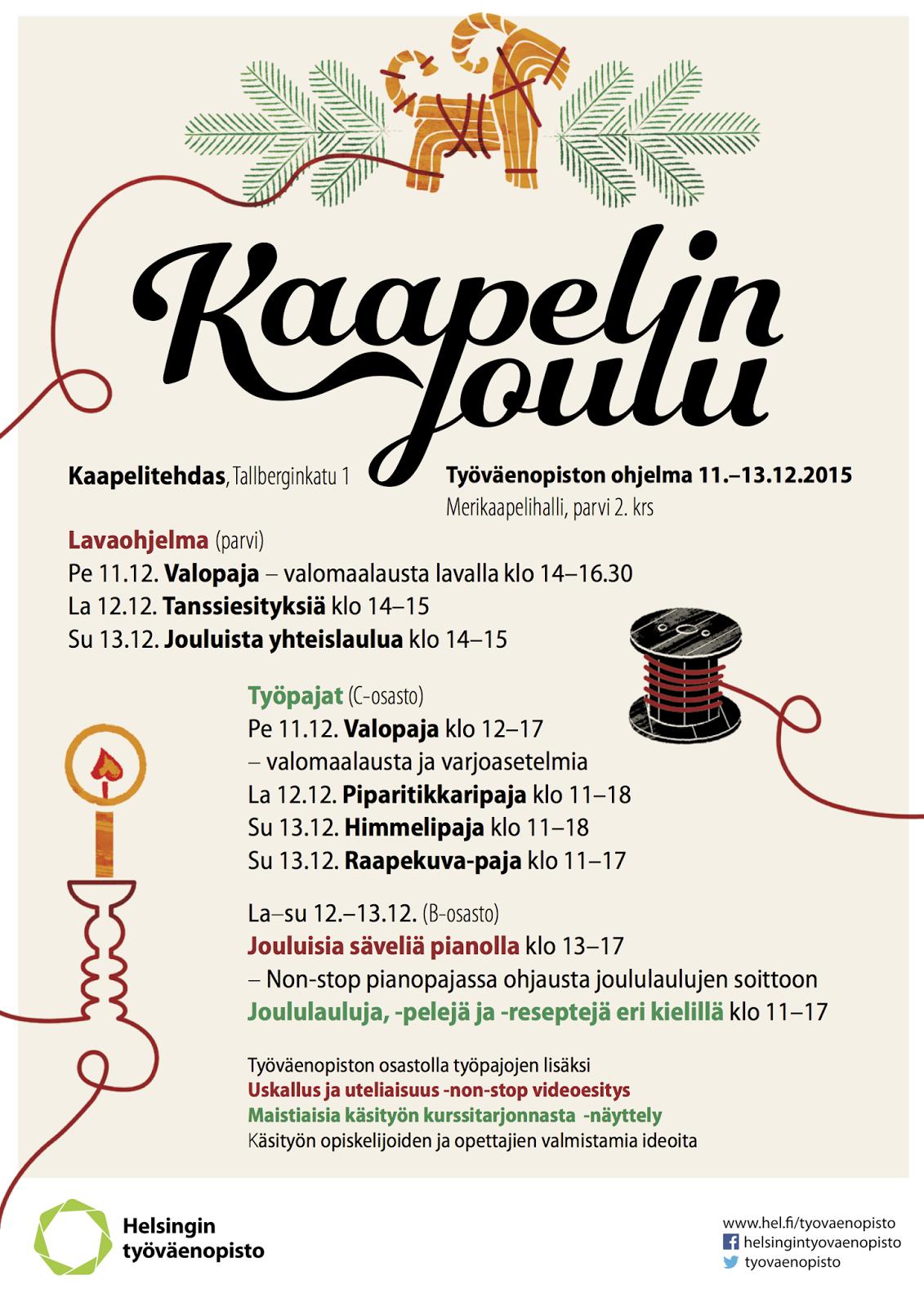 työväenopisto helsinki kurssit 2014