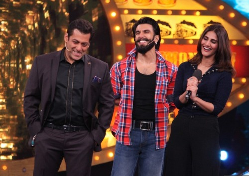 Ranveer Singh's Salman Khan On Bigg Boss 10