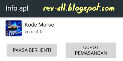 Ikon aplikasi kode morse (belajar dan tes sandi morse) rev-all.blogspot.com