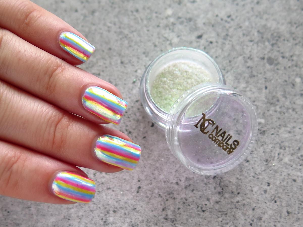 "Mój ulubiony pyłek do hybryd – ""Crystal Mirror"" Nails Company ♥"