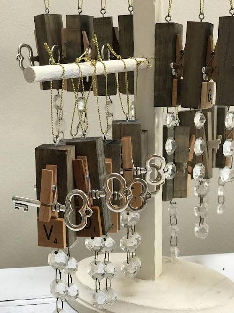 Homeroad Etsy for rustic DIY ornaments