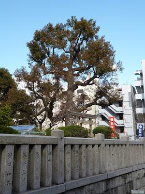 蒲田神社玉垣