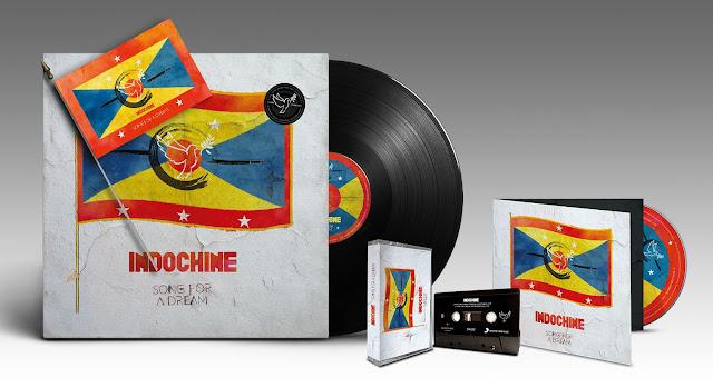 Indochine: Maxi sencillo y clip - Song for a Dream
