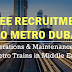 Dubai Metro Jobs 2019 - Operations & Maintenance of Metro Trains in Middle East