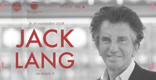 Conf #2 La culture en discussion avec Jack Lang