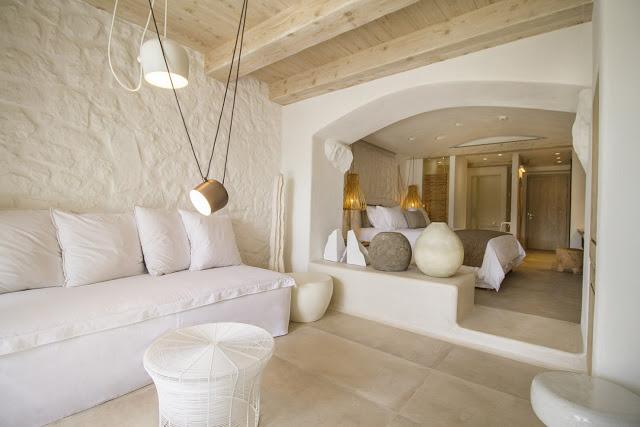 Un hotel di design a mikonos for Corso di design di interni