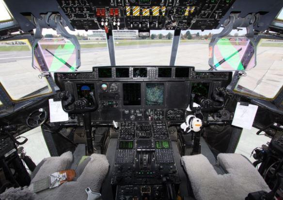 C-130J Super Hercules cockpit