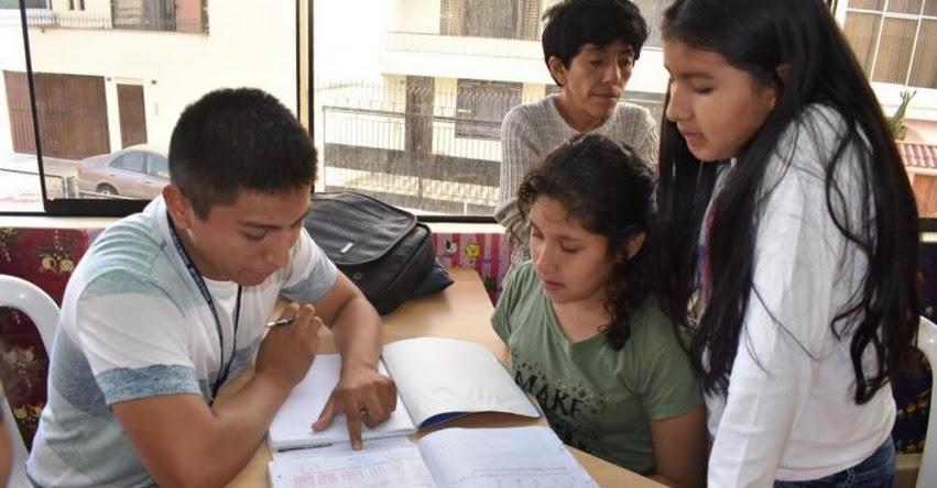MINEDU y la Municipalidad de Pueblo Libre darán reforzamiento escolar gratuito a los vecinos