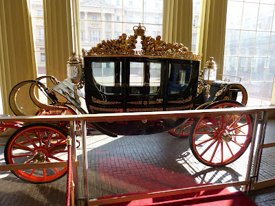 Australian State Coach on display at Buckingham Palace in 2015