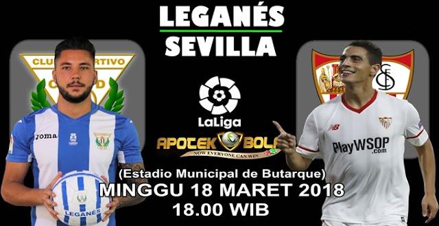 Prediksi Leganes vs Sevilla 18 Maret 2018