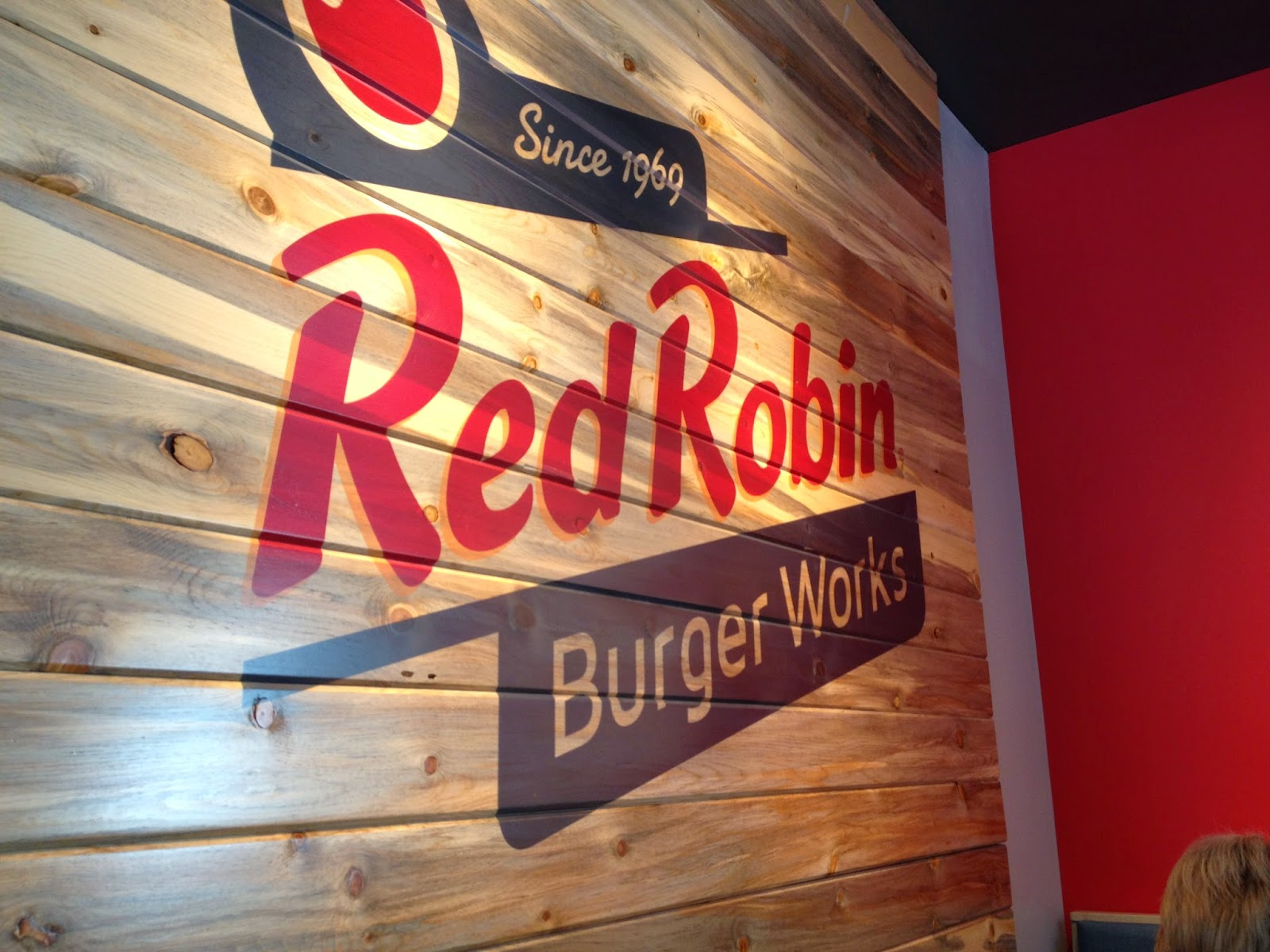 Familiar Elements Of The Red Robin Decor Have Been Brought In To Burger Works Locations