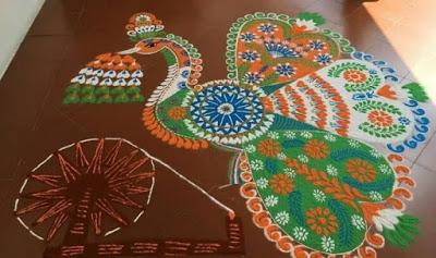 Happy New Year Best Rangoli Designs 2016