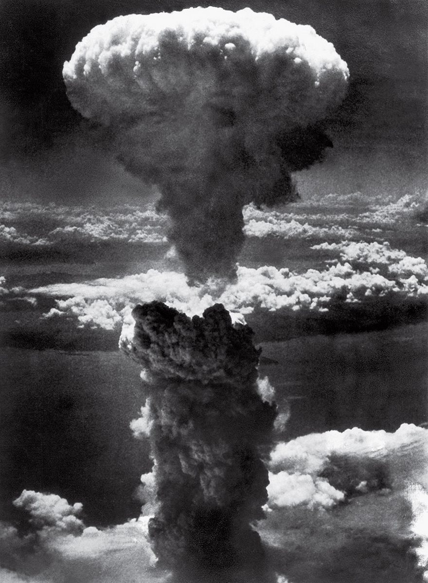 #9 Mushroom Cloud Over Nagasaki, Lieutenant Charles Levy, 1945 - Top 100 Of The Most Influential Photos Of All Time