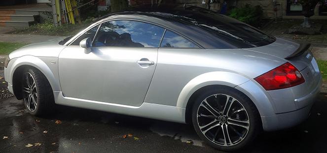 Audi TT MK1 Electric Conversion