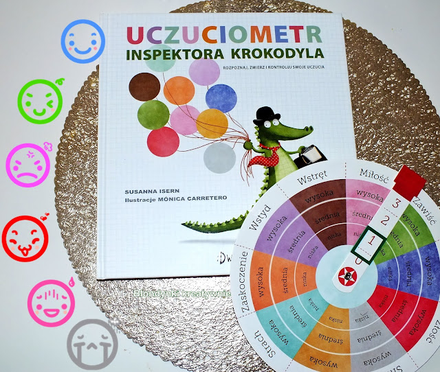 """Uczuciometr inspektora Krokodyla"""" to niezwykła książka zarówno dla dzieci, jak i ich rodziców."""