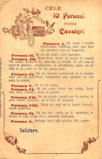 Cele 10 Porunci pentru cavaleri