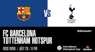 مشاهدة مباراة برشلونة و توتنهام مباشر بدون تقطيع اليوم