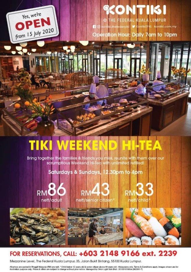 Tiki Weekend Hi Tea