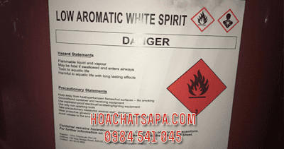 Dung môi Low Aromatic White Spirit solvent