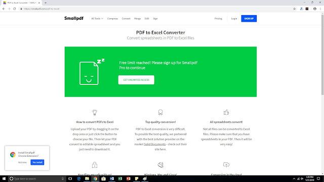7 Langkah Cara Mengatasi Limited Pada iLovePDF atau SmallPDF dengan Gratis