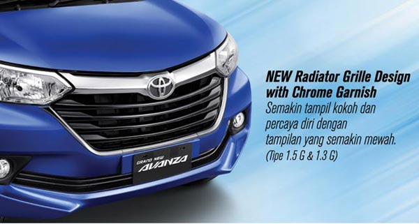 Exterior Grand New Toyota Avanza