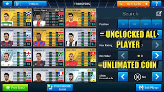 DLS 19 UNCLOCKED All Player by Arief Dzul Mod APK OBB+Data Download
