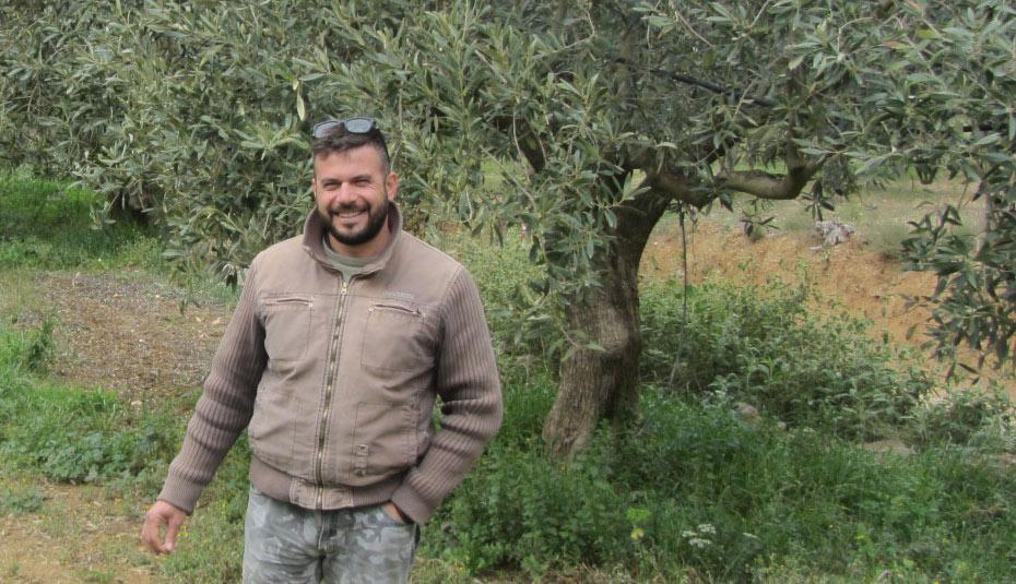 Dimitri Kyriakoulias, Bio-Olivenproduzent in Griechenland